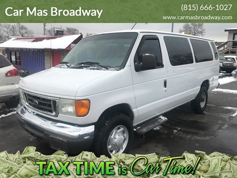 2006 Ford E-Series Wagon E-350 SD XLT for sale at Car Mas Broadway in Crest Hill IL