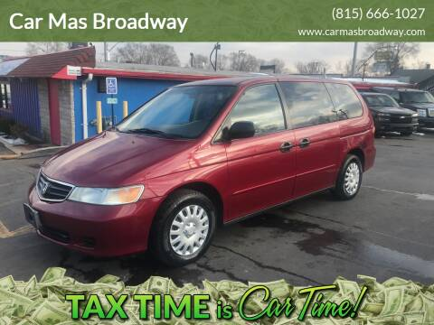 2003 Honda Odyssey LX for sale at Car Mas Broadway in Crest Hill IL