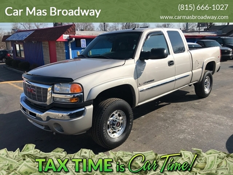 2005 GMC Sierra 2500HD for sale at Car Mas Broadway in Crest Hill IL