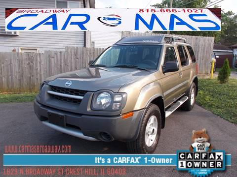 2002 Nissan Xterra for sale at Car Mas Broadway in Crest Hill IL