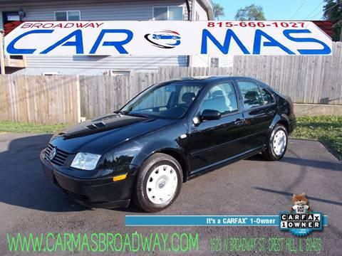 2001 Volkswagen Jetta for sale at Car Mas Broadway in Crest Hill IL