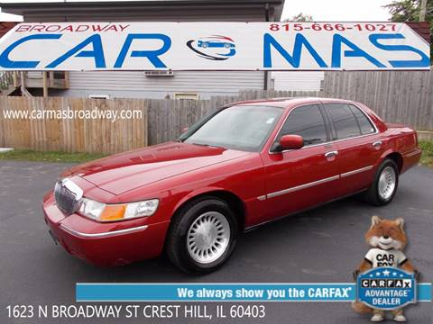 2000 Mercury Grand Marquis for sale at Car Mas Broadway in Crest Hill IL