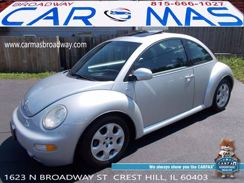 2003 Volkswagen New Beetle for sale at Car Mas Broadway in Crest Hill IL