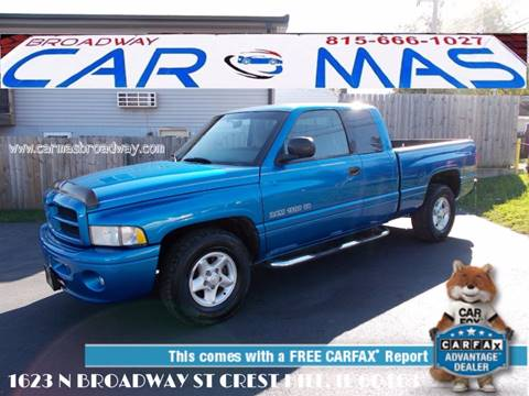 2001 Dodge Ram Pickup 1500 for sale at Car Mas Broadway in Crest Hill IL