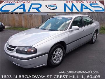 2003 Chevrolet Impala for sale at Car Mas Broadway in Crest Hill IL