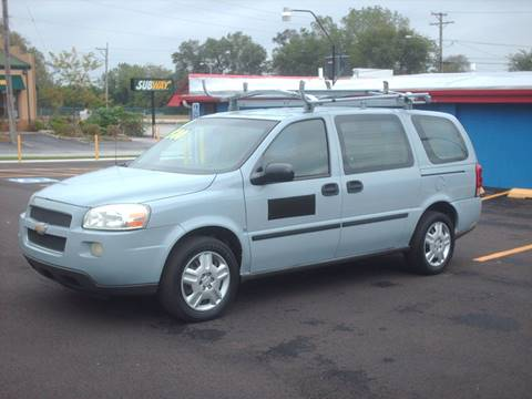 2007 Chevrolet Uplander for sale at Car Mas Broadway in Crest Hill IL