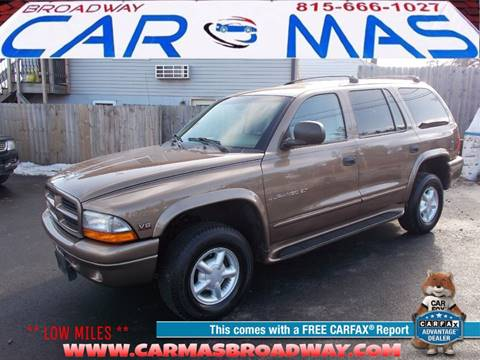 2000 Dodge Durango for sale at Car Mas Broadway in Crest Hill IL