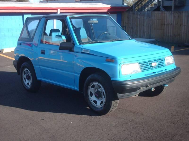 1993 geo tracker 2dr convertible crest hill il