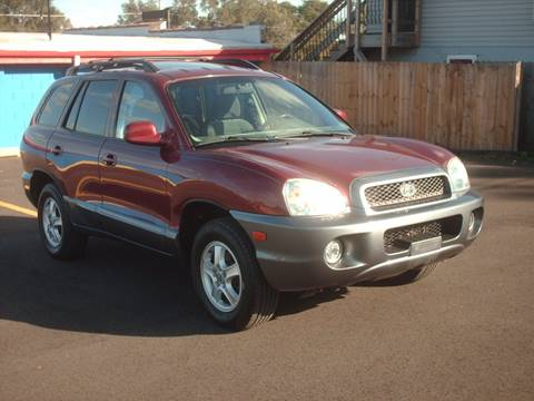 2004 Hyundai Santa Fe for sale at Car Mas Broadway in Crest Hill IL