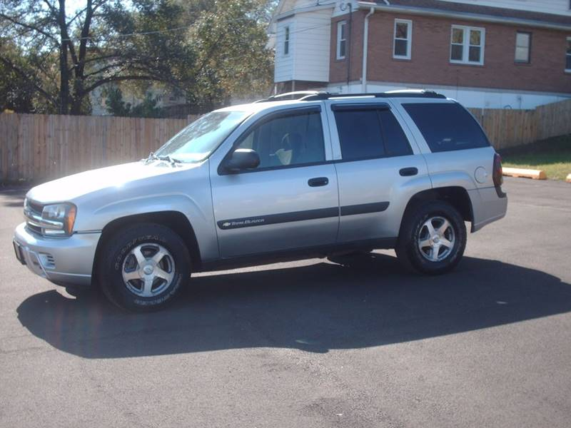 chevy trailblazer ls 2004
