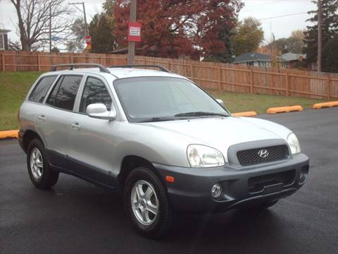 2002 Hyundai Santa Fe for sale at Car Mas Broadway in Crest Hill IL