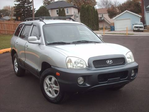 2001 Hyundai Santa Fe for sale at Car Mas Broadway in Crest Hill IL