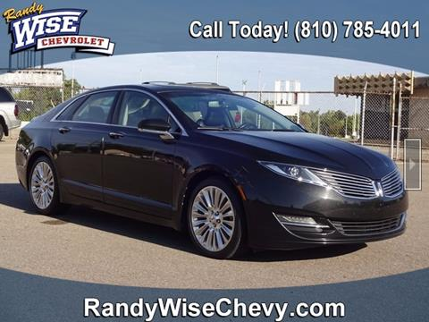 2013 Lincoln MKZ for sale in Flint, MI