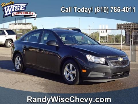 2012 Chevrolet Cruze for sale in Flint, MI