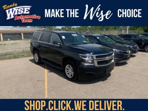 2015 Chevrolet Tahoe LT for sale at Randy Wise Chevrolet in Flint MI