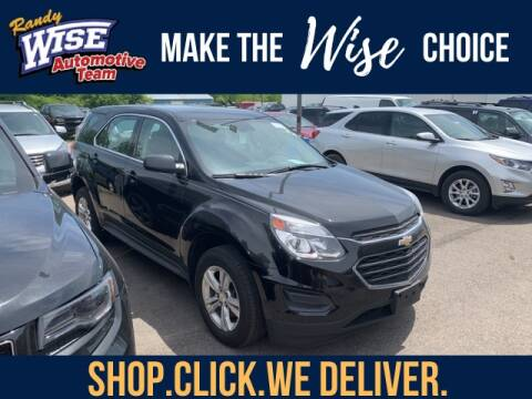 2017 Chevrolet Equinox LS for sale at Randy Wise Chevrolet in Flint MI