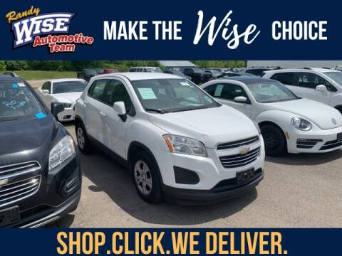 2016 Chevrolet Trax for sale at Randy Wise Chevrolet in Flint MI