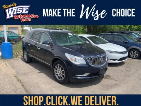 2017 Buick Enclave Leather for sale at Randy Wise Chevrolet in Flint MI