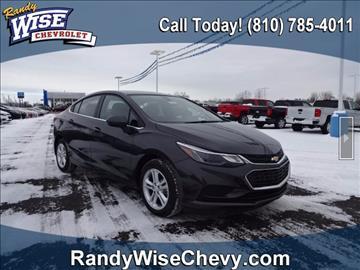 2017 Chevrolet Cruze for sale in Flint, MI
