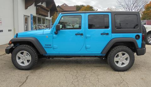 2017 Jeep Wrangler Unlimited for sale in New Glarus WI