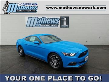 2017 Ford Mustang for sale in Newark, OH