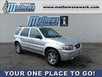 2005 Ford Escape for sale in Newark, OH