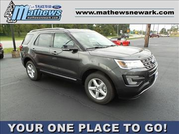 2017 Ford Explorer for sale in Newark, OH
