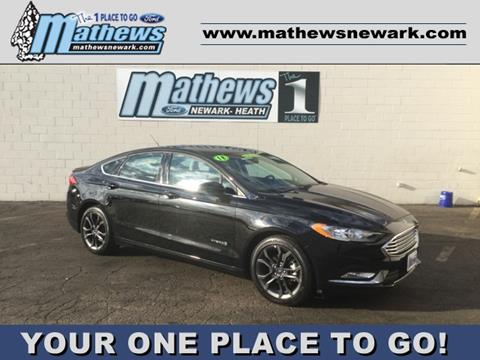 2018 Ford Fusion Hybrid for sale in Newark, OH