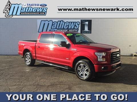 Mathews Ford Newark >> 2016 Ford F 150 For Sale In Newark Oh