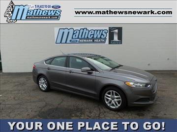 2014 Ford Fusion for sale in Newark, OH