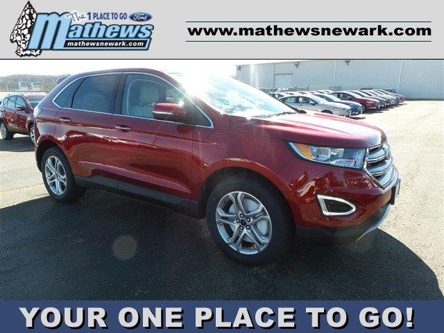 2017 ford edge awd titanium 4dr suv in newark oh mathews ford. Cars Review. Best American Auto & Cars Review