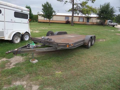 Car hauler with winch for sale in Dublin, TX