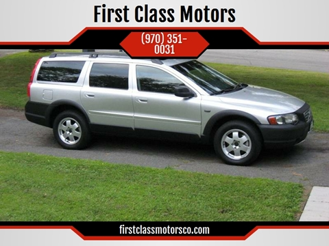 2004 Volvo XC70 for sale at First Class Motors in Greeley CO