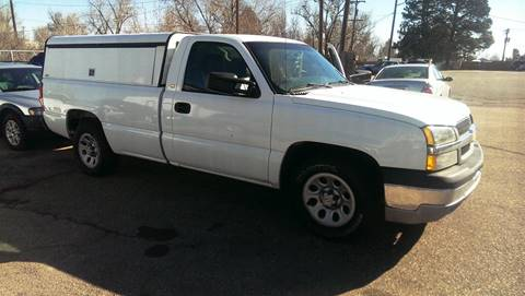 2005 Chevrolet Silverado 1500 for sale at First Class Motors in Greeley CO