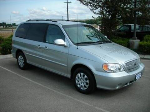 2005 Kia Sedona for sale at First Class Motors in Greeley CO