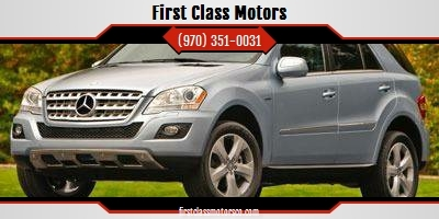 2010 Mercedes-Benz M-Class for sale at First Class Motors in Greeley CO