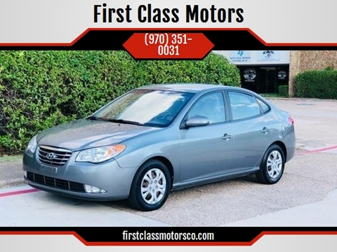 2010 Hyundai Elantra for sale at First Class Motors in Greeley CO