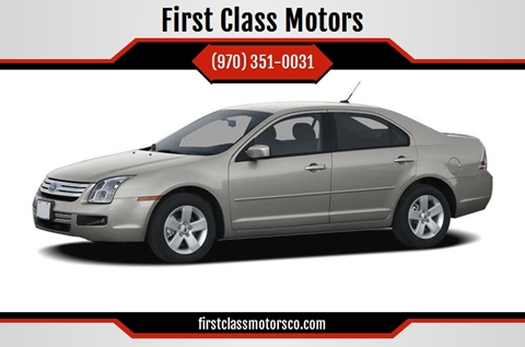 2007 Ford Fusion for sale at First Class Motors in Greeley CO