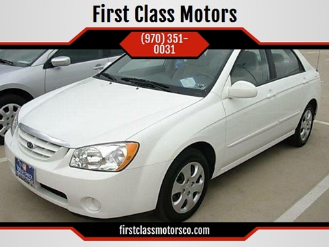 2008 Kia Spectra for sale at First Class Motors in Greeley CO