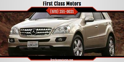 2006 Mercedes-Benz M-Class for sale at First Class Motors in Greeley CO