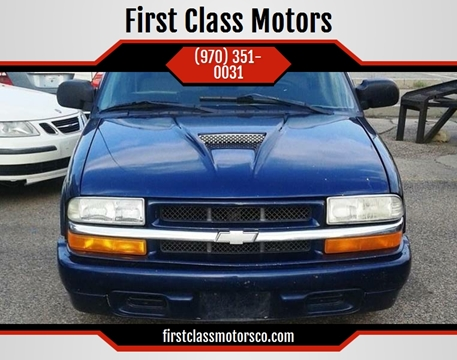 2003 Chevrolet S-10 for sale at First Class Motors in Greeley CO