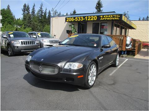 2008 Maserati Quattroporte for sale in Lakewood, WA