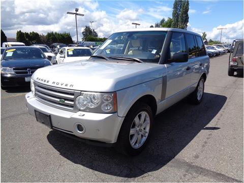 used land rover for sale in lakewood wa. Black Bedroom Furniture Sets. Home Design Ideas