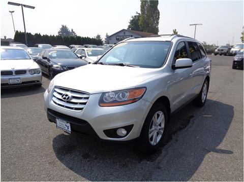 2011 Hyundai Santa Fe for sale in Lakewood, WA