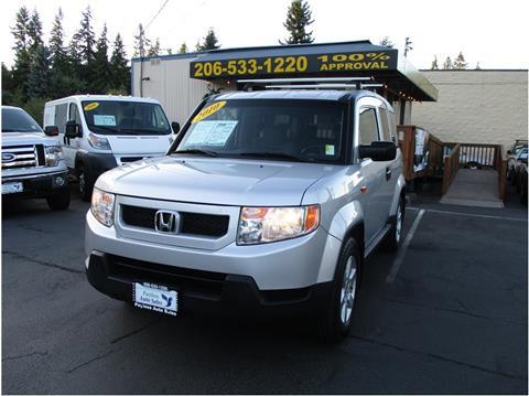 2010 Honda Element for sale in Lakewood, WA