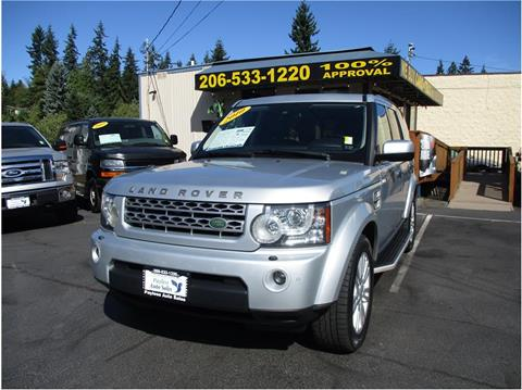 2010 Land Rover LR4 for sale in Lakewood, WA