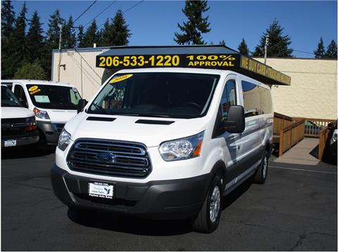 2016 Ford Transit Wagon for sale in Lakewood, WA