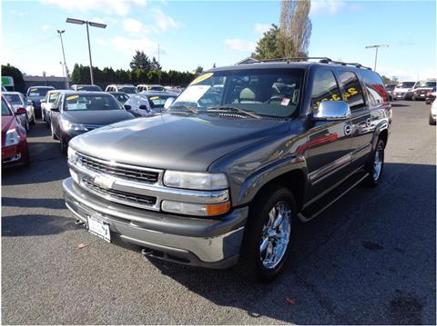 2002 Chevrolet Suburban for sale in Lakewood, WA