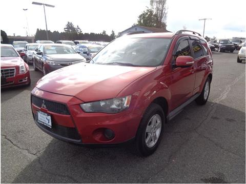 2010 Mitsubishi Outlander for sale in Lakewood, WA