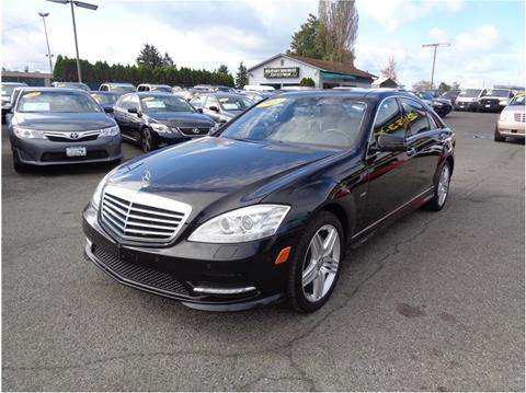 2012 Mercedes-Benz S-Class for sale in Lakewood, WA